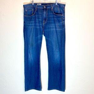 AG Mens Jeans Straight Leg Loose medium wa…